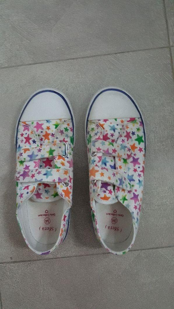 oferta especial costo moderado Productos Zapatos tela niña de segunda mano por 6 € en Getafe en WALLAPOP