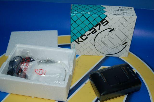 Walkman nuevo sin uso KASUGA modelo KC-275 nuevo