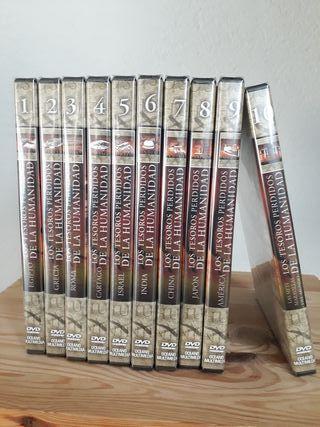 DVD'S (A) de coleccion. LOS TESOROS PERDIDOS...