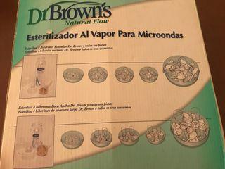 Esterilizador Dr.Brown microondas
