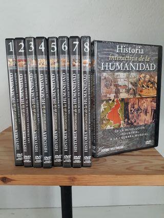 Coleccion DVD's Historia Interactiva...