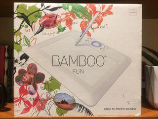 Tableta gráfica de dibujo WACOM BAMBOO FUN