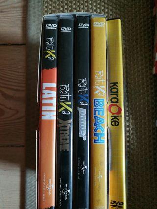 4 DVD'S de BATUKA ORIGINALES