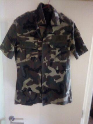 camisa militar talla l.