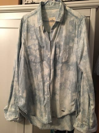 Rebajado - Camisa tejana Hollister
