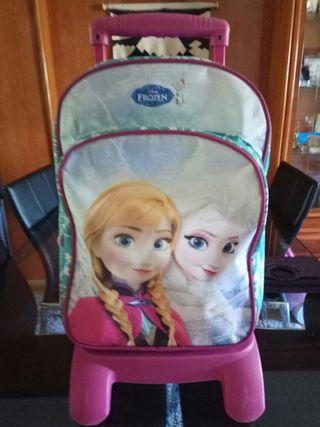 mochila escolar con ruedas