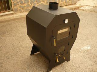 Horno de leña mediano para exterior, 100X67X58