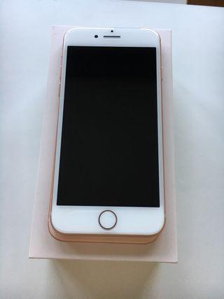 Iphone 8 gold rose 64 Gb