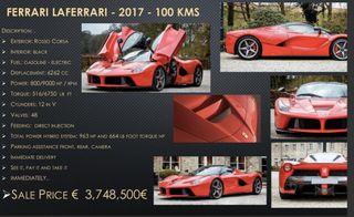 Ferrari LaFerrari 2017