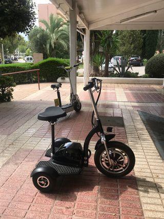 Patinetes electricos 3 ruedas