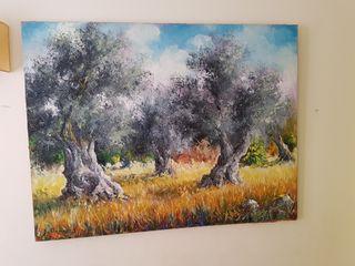 cuadro joan borras ses oliveres