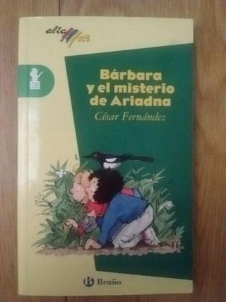 """Libro lectura """"Bárbara y el misterio de Ariadna"""""""