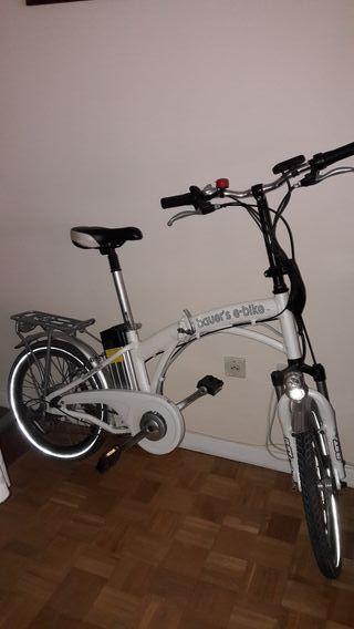 Bicicleta Electrica Plegable de paseo