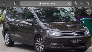"""Llantas Volkswagen sharan 17"""""""