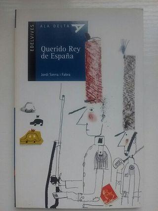 """Libro lectura """"Querido Rey de España"""""""