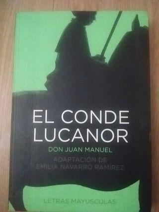 """Libro lectura """"El Conde Lucanor"""""""