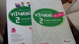 Libros de francés Vitamine 2