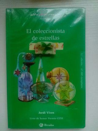 """Libro lectura """"El coleccionista de estrellas"""""""