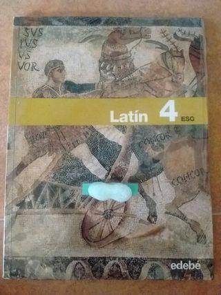 Libro 4°ESO Latín