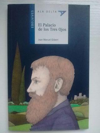 """Libro lectura """"El Palacio de los Tres Ojos"""""""