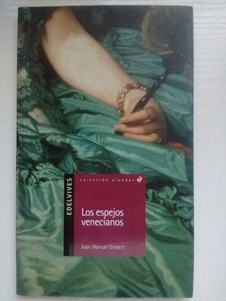 """Libro lectura """"Los espejos venecianos"""""""