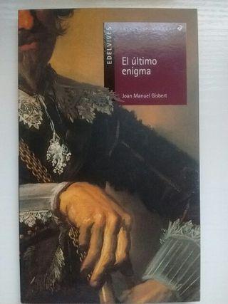 """Libro lectura """"El último enigma"""""""