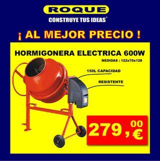 HORMIGONERA ELÉCTRICA 600W