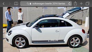 """Llantas Volkswagen beetle 17"""""""