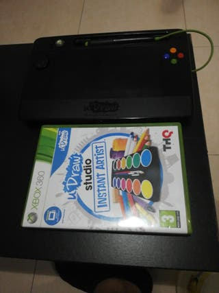 udraw studio instant artist y tableta Xbox360