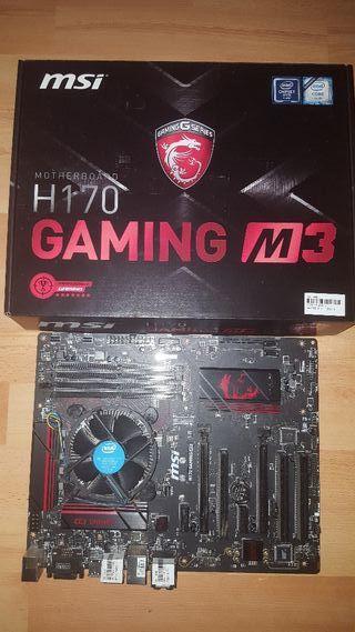 Placa base gaming + Procesador i5