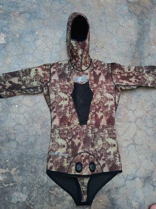 chaqueta 7mm camuflage adc talla 2