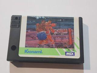 Konami's Boxing MSX