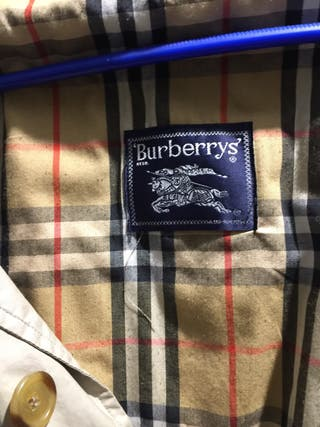 Gabardina hombre burberry