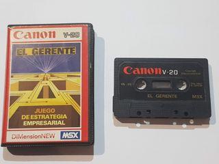 El Gerente Canon v-20
