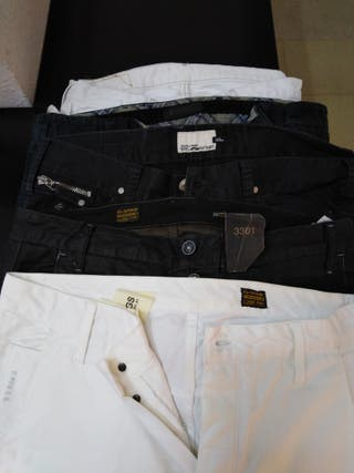 Pantalones marca gstar belstaff levis straus energ