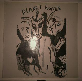 Disco vinilo Bob Dylan Planets Waves.