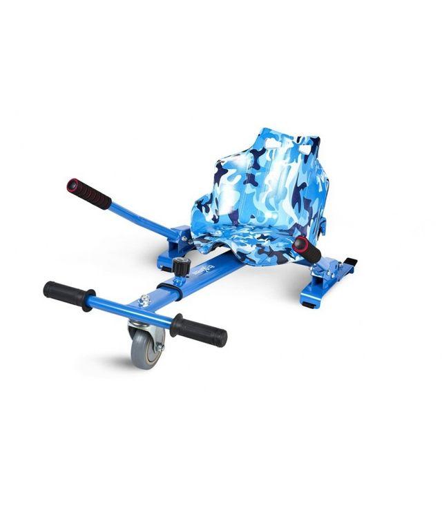 Asiento Kart - Hoverkart Multicolor Azul Militar p