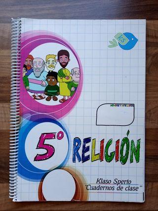 Libro Religión 5° primario