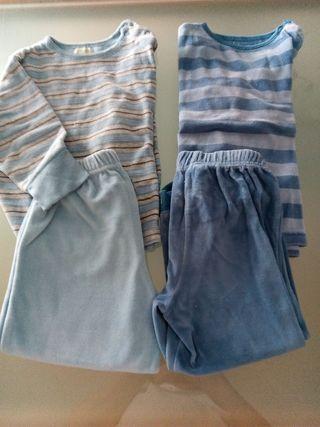 pijama terciopelo 2-3 años
