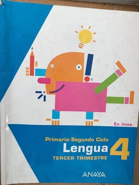 Lengua 4 cuarto de primaria Anaya de segunda mano por 12 € en Club ...