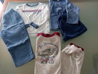 pijamas invierno niño talla 2 años
