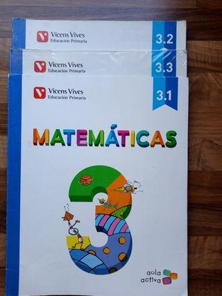 Matemáticas 3° primaria