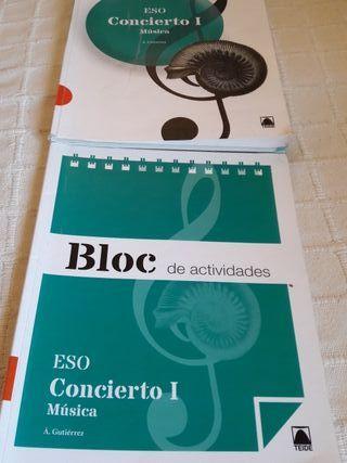 Libros música ESO.