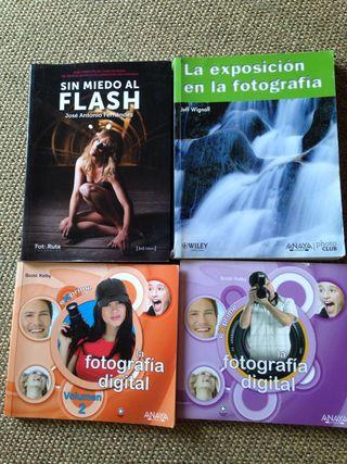 4 Libros fotografia