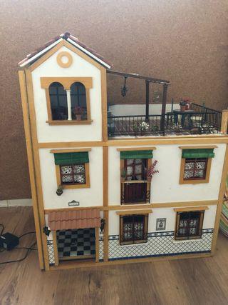 Casa de muñecas Triana 3 pisos