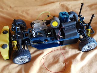 Coche Radio control de gasolina