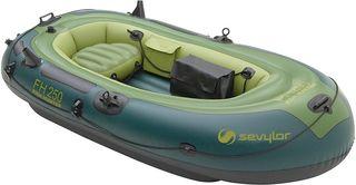Barca de pesca inflable. Sevylor Outback