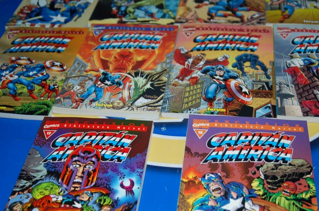 Biblioteca marvel excelsior CAPITAN AMERICA