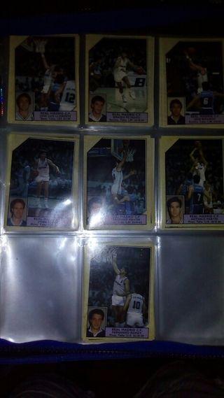 Equipo Real Madrid liga baloncesto 89
