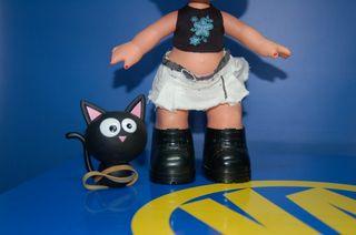 Muñeca Big Bratz Babyz Jade-con gato-descatalogada